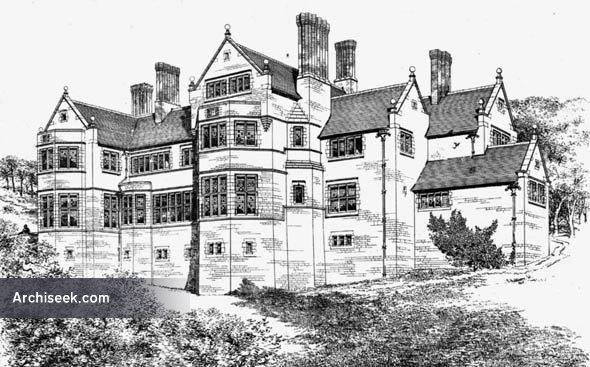 """1884 – """"Bronwylfa"""", St. Asaph, Denbighshire, Wales"""