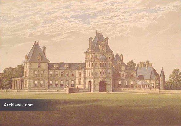 1860 – Wynnstay Hall, Ruabon, Wales