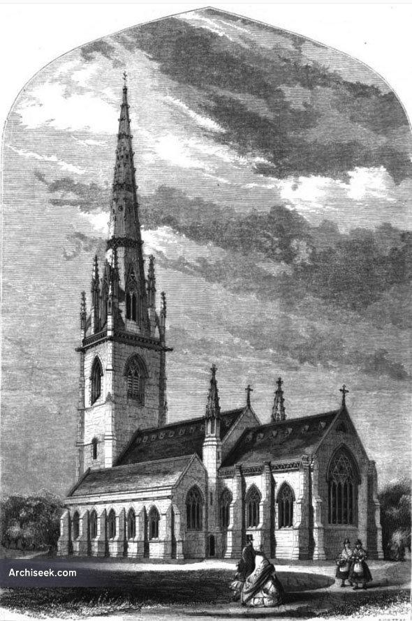 1860 – Bodelwyddan Church, Wales