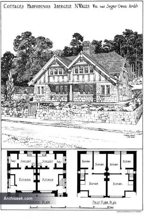 1904 – Cottages, Abergele, Wales