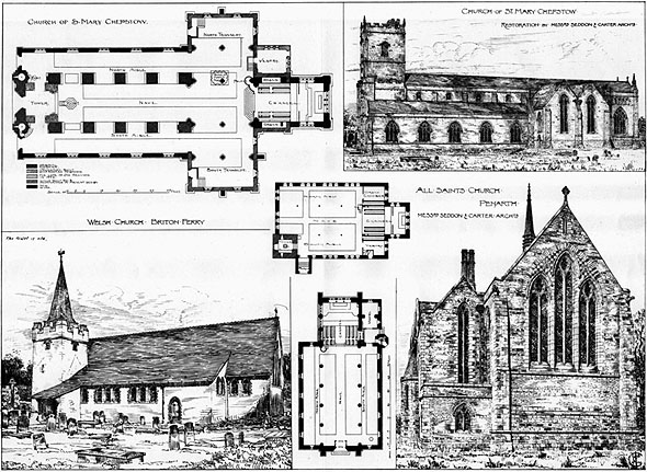 1894 &#8211; Restoration of Welsh Churches