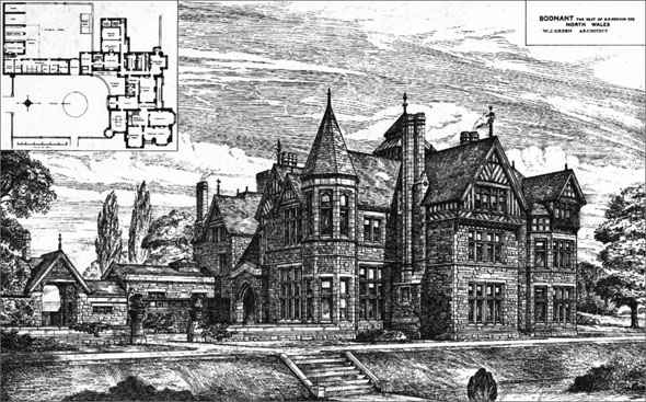 1881 – Bodnant, North Wales