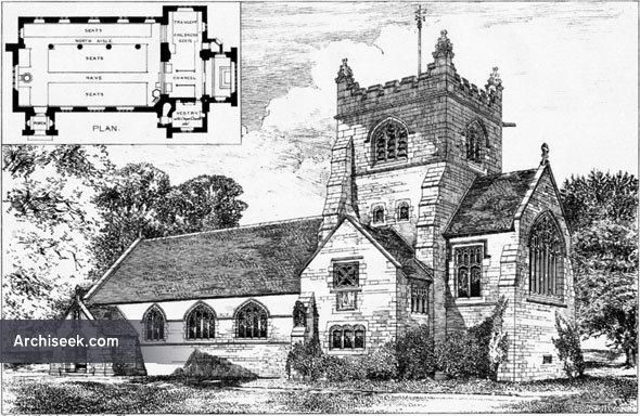 1886 – Parish Church, Rossett, Denbighshire, Wales