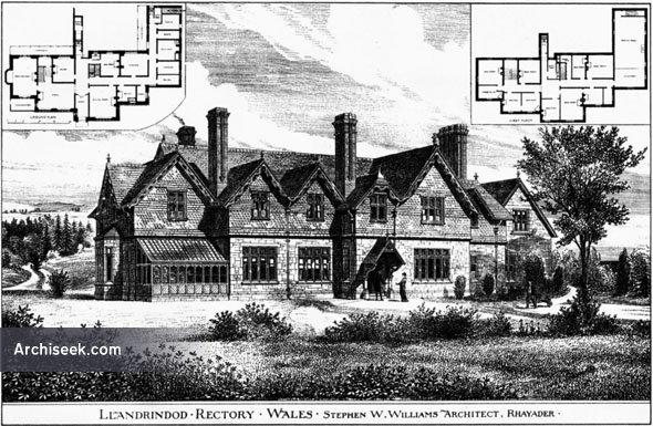 1883 – Llandrindod Rectory, Wales