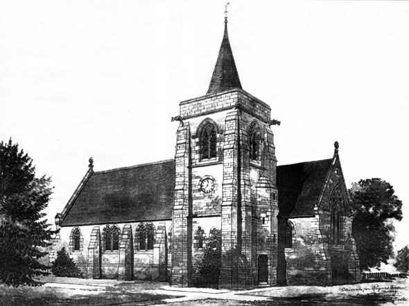 1887 – Church for Rogerstone, Monmouthshire, Wales