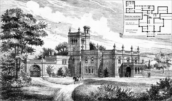1886 – Bryncaerau, Caermarthen, Wales