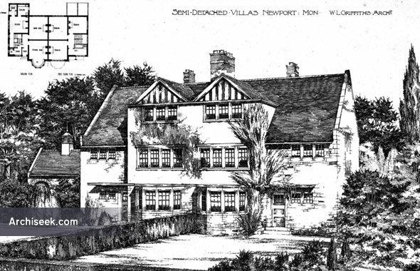 1894 – Semi-Detatched Villas, Newport, Wales