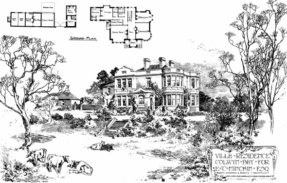 1898 &#8211; Villa Residence, Colwyn Bay, Wales