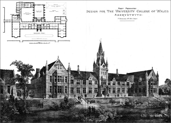 1886 &#8211; University College of Wales, Aberystwyth, Wales