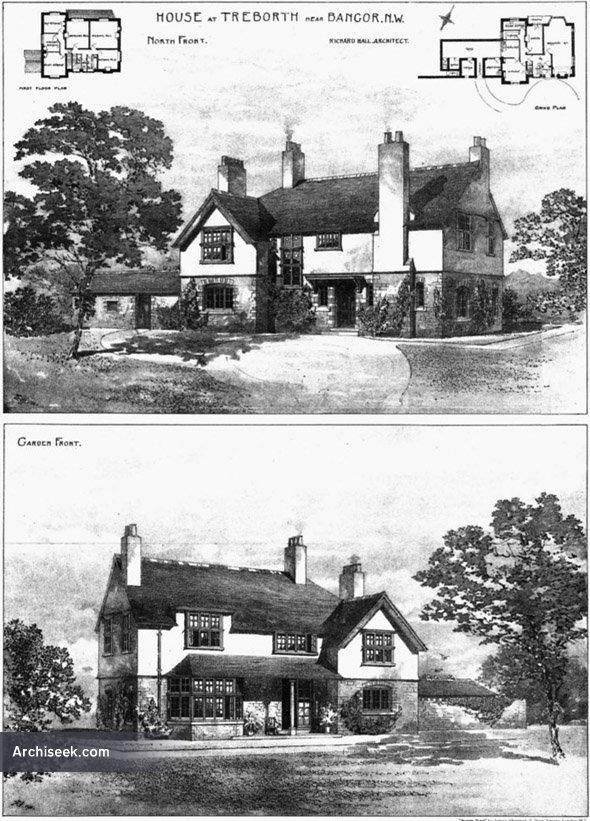 1901 – House at Treborth, Bangor, Wales