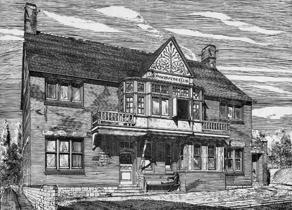 1885 &#8211; Penarth Conservative Club, Glamorgan, Wales