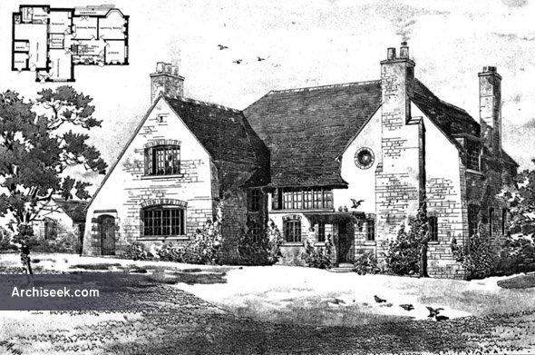 1903 – Brithdir Vicarage, Dolgelly, Wales