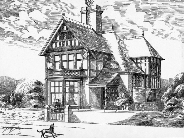 1888 &#8211; Villa, Penmaenmawr Building Estate, North Wales