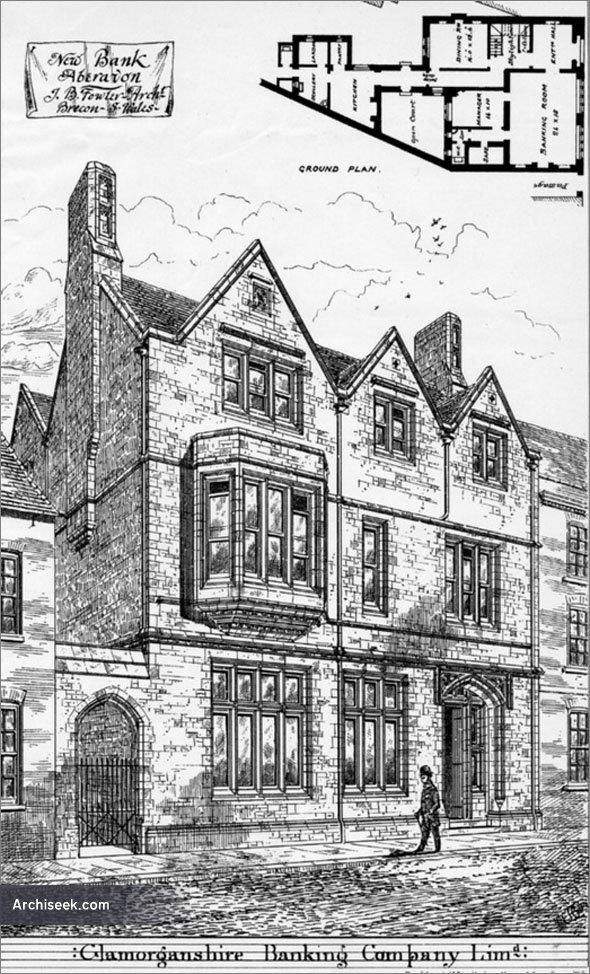 1880 – Glamorganshire Banking Company, Aberavon, Glamorganshire
