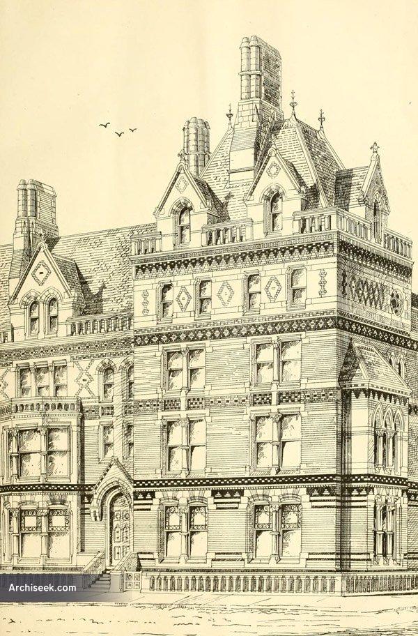 1871 – Terrace, Aberystwyth, Wales