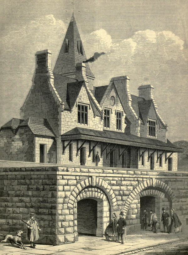 1861 – Denbigh Railway Station, Wales