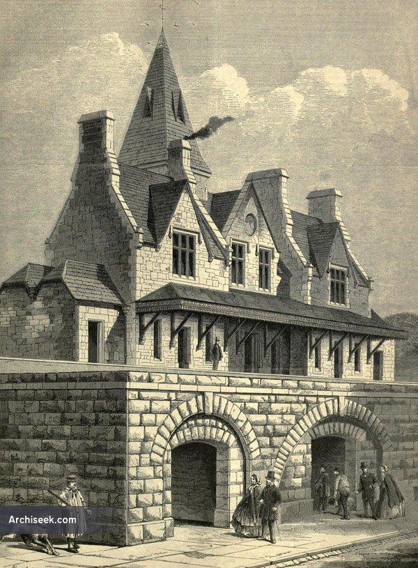 1861 – Denbigh Railway Station, Wales