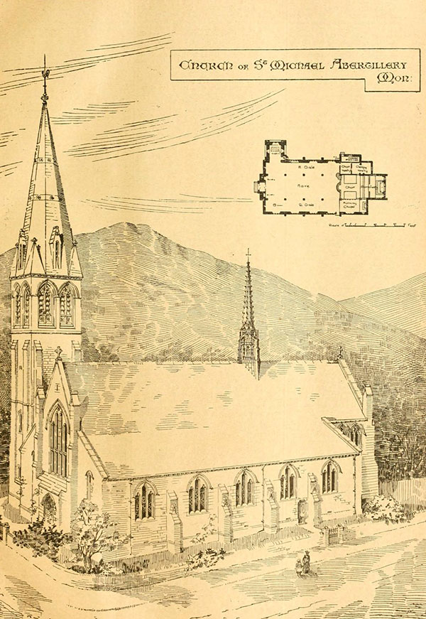 1899 – St. Michael's Church, Abertillery, Wales