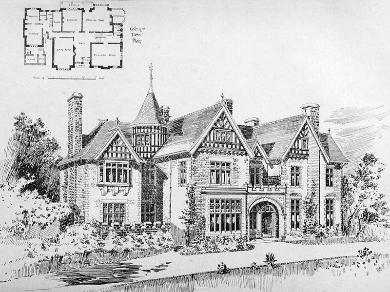 1901 – 'Holme Tower', Penarth, Wales