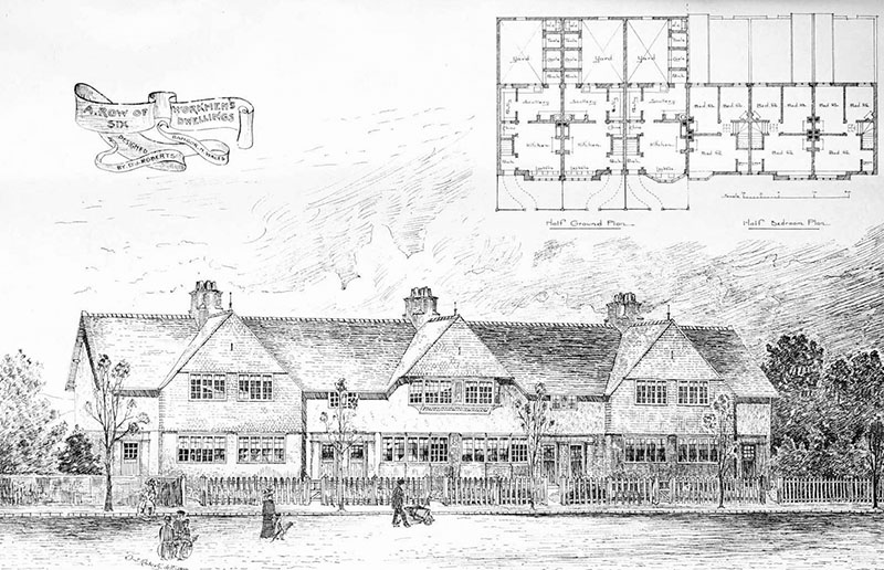 1901 – Workers Dwellings, Bangor, Wales