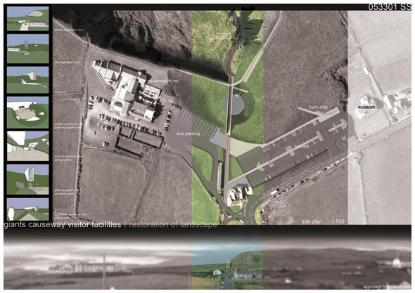 2005 – Unbuilt Antrim – Giants Causeway Visitor Centre