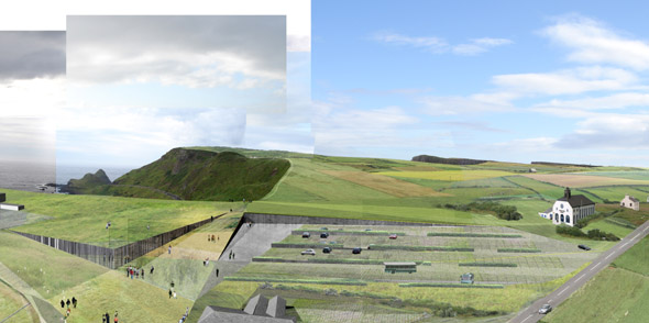 2005 &#8211; Proposal for Giants Causeway Visitor Centre
