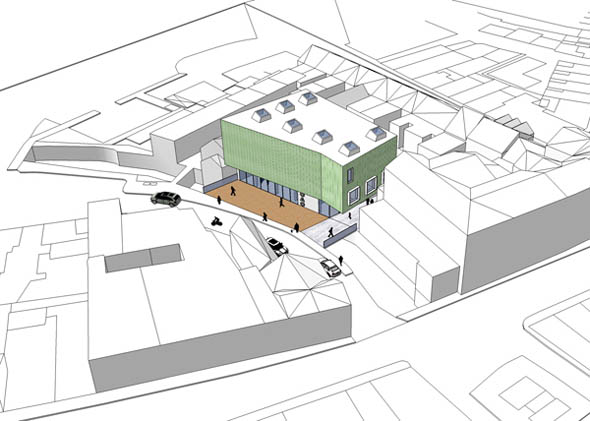 2008 – Unbuilt Cork – West Cork Arts Centre