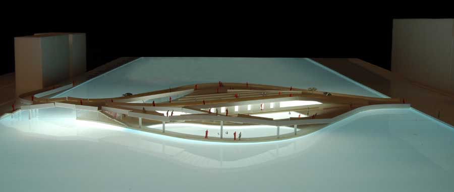 2008 – Unbuilt Dublin – Outdoor Public Baths, Dublin Docklands