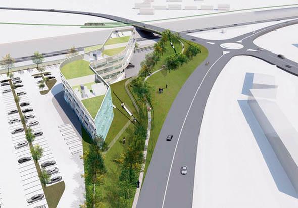 2008 – Unbuilt Dublin – Bord Gáis Networks Control Centre