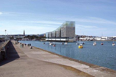 2003 – Unbuilt Dublin – Dun Laoghaire Harbour, Carlisle Pier