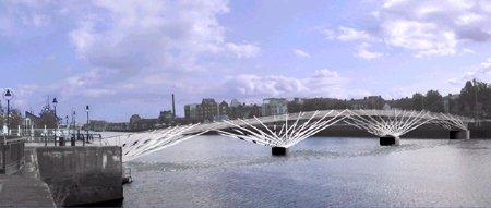 2002 – Unbuilt Dublin – DDDA Pedestrian Bridge