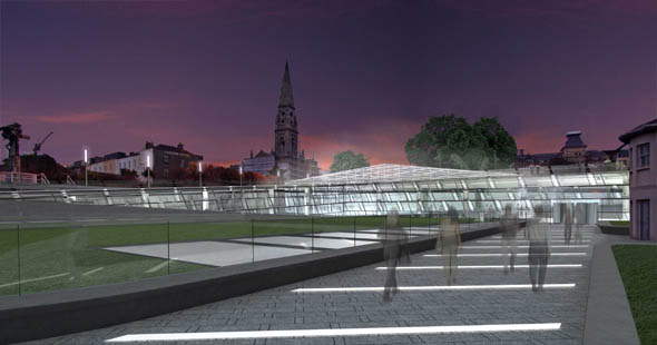 2007 &#8211; Unbuilt Dublin &#8211; Dun Laoghaire Library