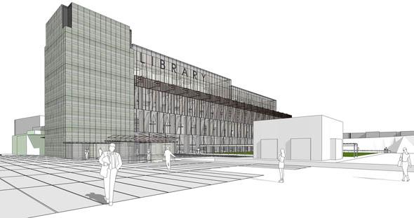 2007 – Unbuilt Dublin – Dun Laoghaire Library