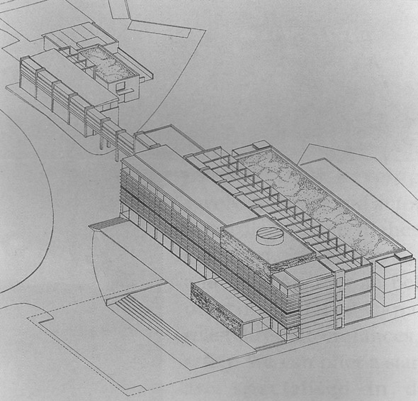 1996 – Fingal County Offices Competition