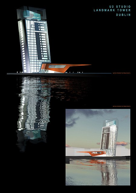 2003 – Unbuilt Dublin – U2 Landmark Tower