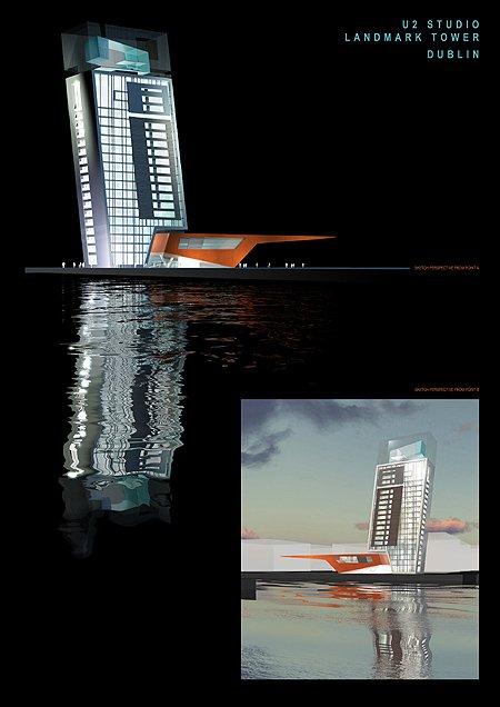 2003 – Unbuilt Dublin – U2 Landmark Tower