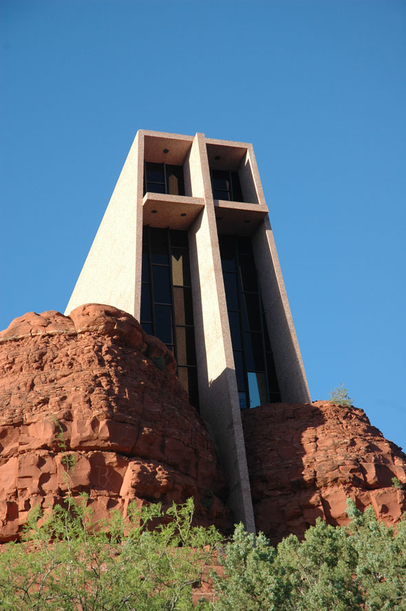 1956 &#8211; Chapel of the Holy Cross, Sedona, Arizona