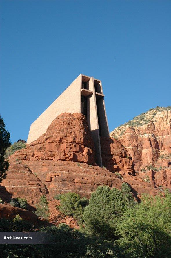 1956 Chapel Of The Holy Cross Sedona Arizona