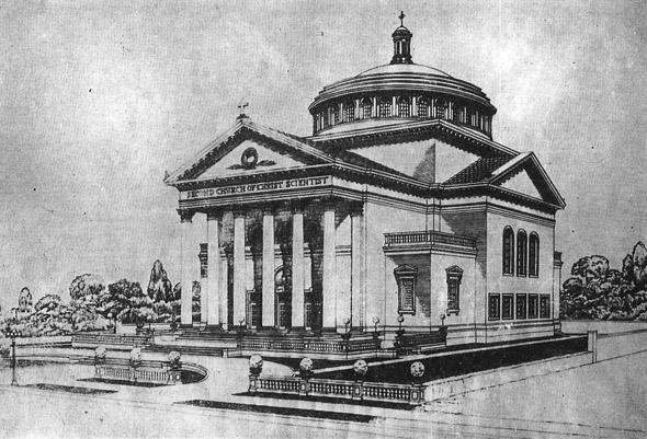1910- Second Church of Christ Scientist, Los Angeles, California