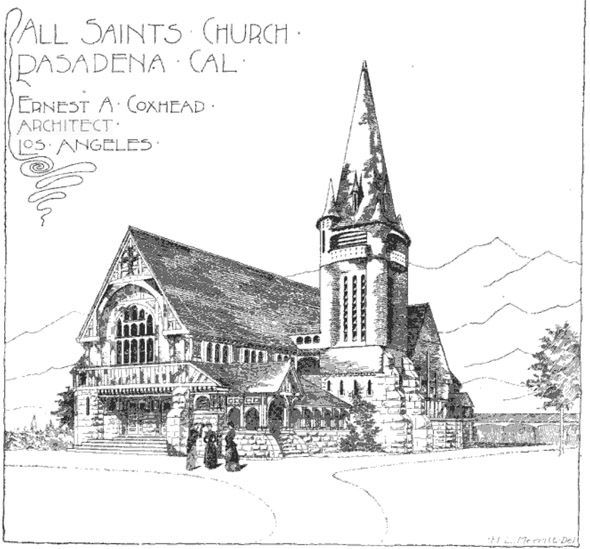 1889 – All Saints Church, Pasadena, California