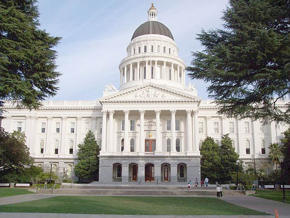 1874 &#8211; State Capitol, Sacramento, California