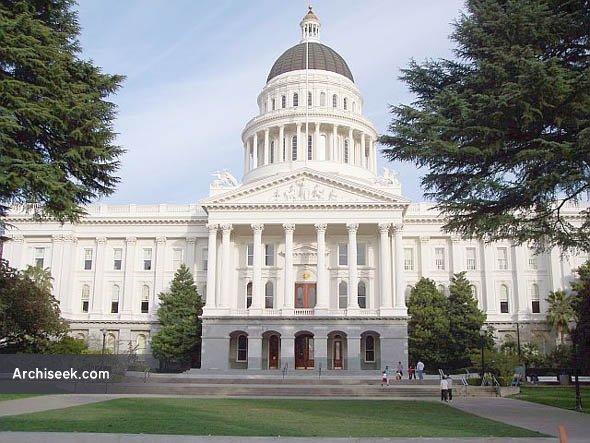 1874 – State Capitol, Sacramento, California