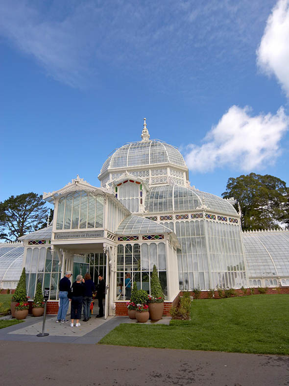 1878 – Conservatory of Flowers, San Francisco, California