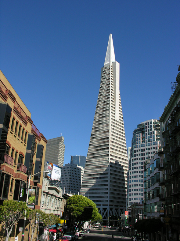 1972 &#8211; Transamerica Building, San Francisco, California