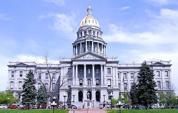 1884 – State Capitol, Denver, Colorado