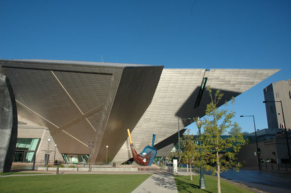 2006 &#8211; Frederic C. Hamilton building, Denver Art Museum