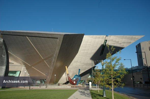2006 – Frederic C. Hamilton building, Denver Art Museum