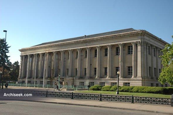 1910 – Former Carnegie Library, Denver