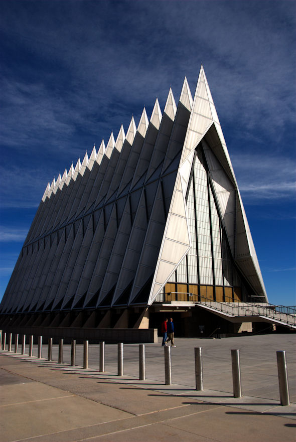1962 – United States Air Force Academy Chapel, Colorado Springs