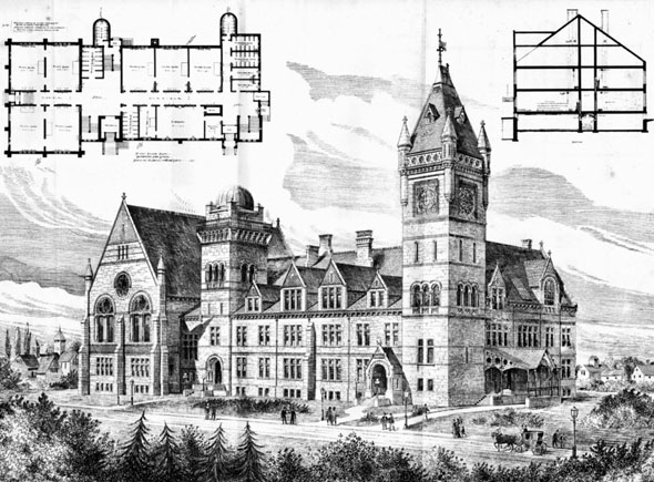 1883 &#8211; The High School, Hartford, Connecticut